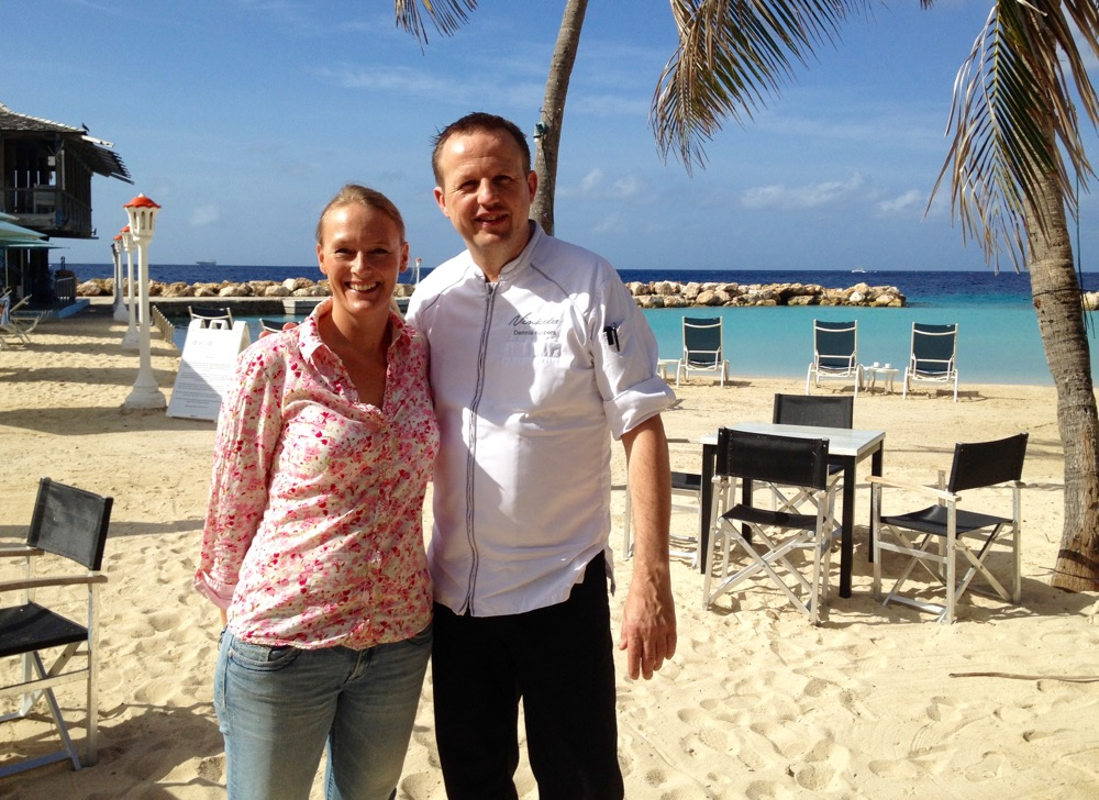 I met with Dutch Master Chef Dennis Kuipers at the Avila Beach hotel