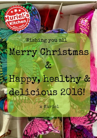 Wishing you a very happy, healthy and delicious 2016!