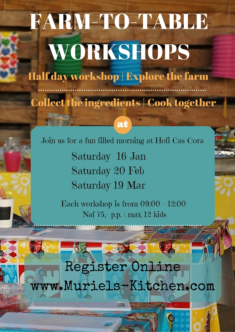 Farm to Table workshops 2016