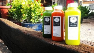 Max & Bee juicery developped a kid's cocktail for Food Revolution Day