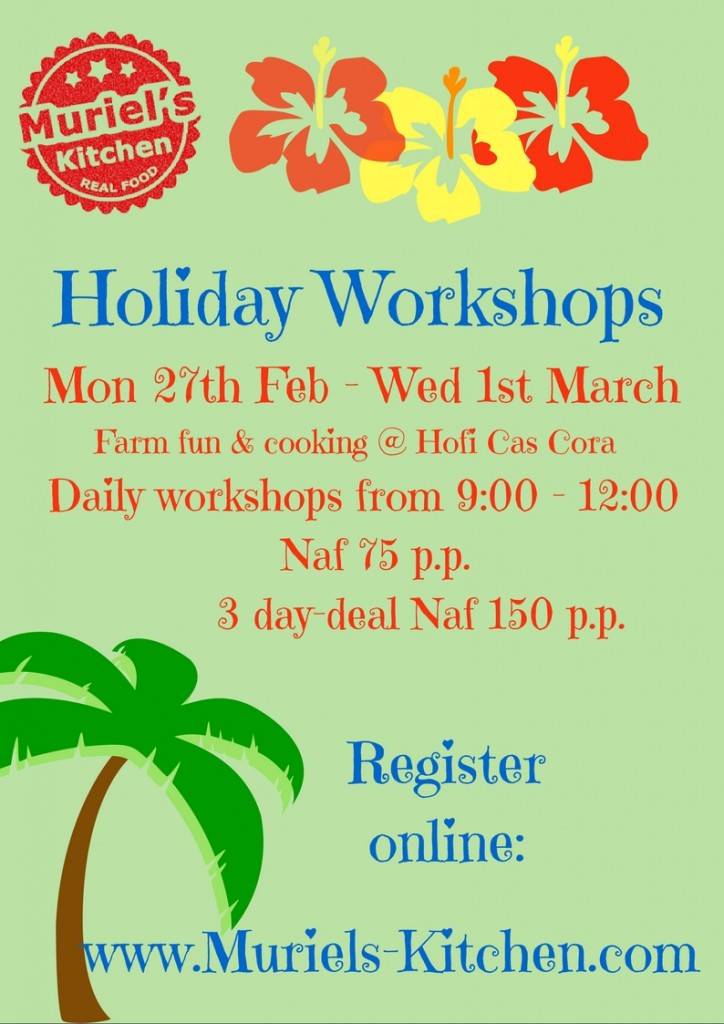 Feb holiday Workshops