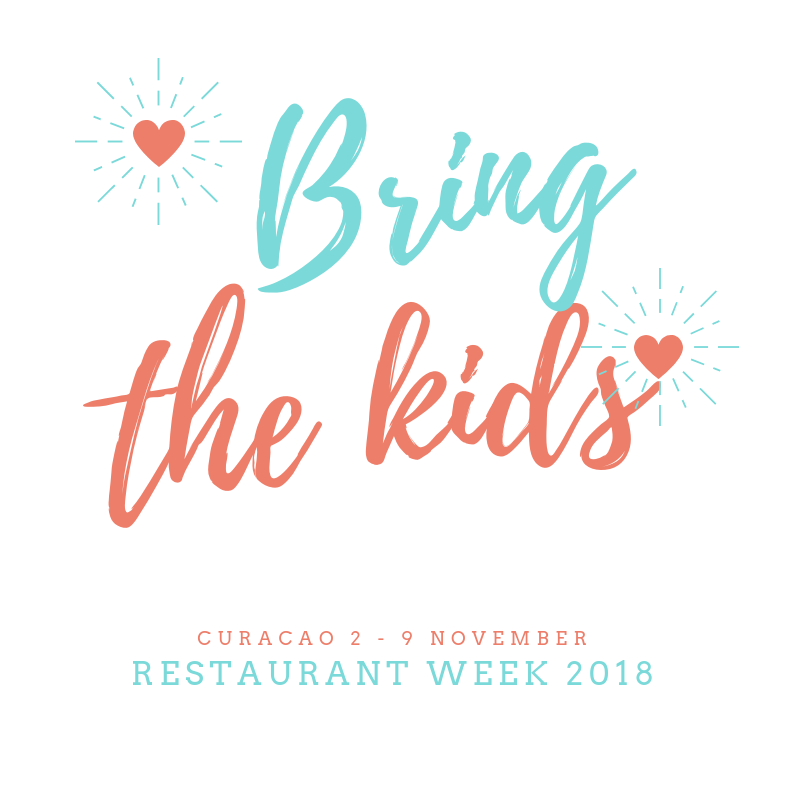 Restaurant week Curacao with kids